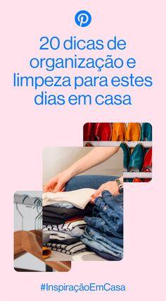 Dicas e tutoriais para organizar a casa #AchateaCurva #InspiraçãoEmCasa