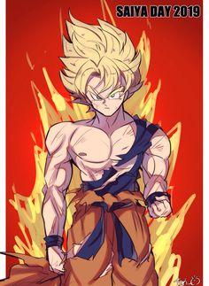 Chibi Goku, Goku Manga, Dragon Ball Gt, Hero Fighter, Kaito, Goku Pics, Ssj3, Ball Drawing, Digital Art Fantasy