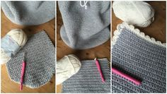 crochet backpack on the LoveCrochet blog