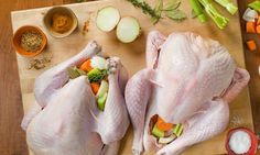 3 Simple Steps to the Perfect Thanksgiving Turkey - Rachael Ray Fall Recipes, Holiday Recipes, Holiday Meals, Mutton Meat, Pumpkin Bars, Mexican Cooking, Turkey Dishes, Roasted Turkey, Thanksgiving Crafts