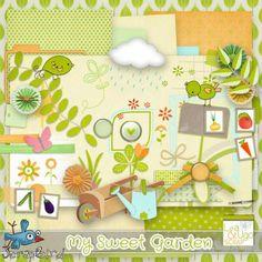 Kit My Sweet Garden by LeaUgoScrap