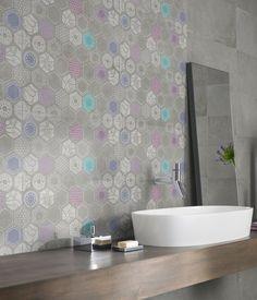 Stoneware wall/floor #tiles URBANATURE by @ceramica creativa tenerife Panaria