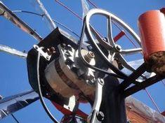 Wind Generator With Car Alternator: 3 Steps Off Grid, Alternative Energie, Wind Power Generator, Solar Projects, Solar Power System, Led Lampe, Windmill, Renewable Energy, Solar Energy