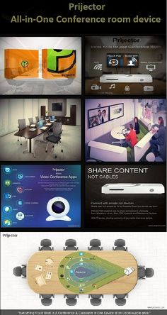 Prijector : All-in-one conference room device #windows #linux #mac #ios #android #blackberry #conference #technology #coolgadgets #prijector #wireless #office #conferenceroom #meeting #smartgadets #posters #school #college #meetingrooms #presentation  www.prijector.com