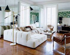 Brian Atwood and Nate Berkus at Home in Milan