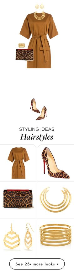 """Leopard Print Shoes & Clutch"" by ittie-kittie on Polyvore featuring Christian Louboutin, MSGM, Trina Turk, Kenneth Jay Lane, Aurélie Bidermann, LeopardPrint, animalprint, springfashion, leopardprintshoes and pringstyle"