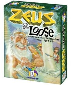 Gamewright TGMW-10 Zeus on the Loose