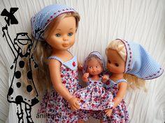 Anilegra moda para muñecas: Patrones y tutoriales para la muñeca Nancy