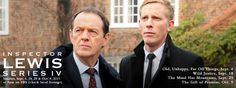 Inspector Lewis. Love this series.