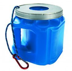 Portable trashcan for boat