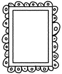 Fathers Day Art, Frame Border Design, Doodle Frames, Japanese Typography, Printable Designs, Printables, Borders And Frames, Water Conservation, Frame Template