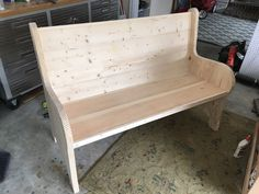 DIY Church Pew Plans - 8 More