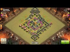 Clash of Clans TH7 vs TH7 Giant, Barbarian & Archer Clan War 3 Star Attack ⋆ Clash of Clans 3 Stars Clan Wars