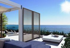 Modern luxury apartments by the sea, Italy