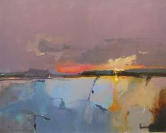 Dawn over the Estuary by Peter Wileman PROI ARSMA FRSA