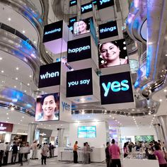 Commercial LED Indoor display in Lot 10 Mall Malaysia Stand Design, Display Design, Booth Design, Banner Design, Mall Design, Retail Design, Event Design, Digital Signage, Hospital Signage