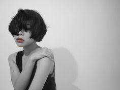 吉祥寺 tribecawest マッシュ クール カラー ☆☆☆hair make &photo : noel alagala