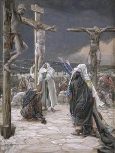 The Crucifixion.  Catholics revere the Crucifix, because this excruciatingly slow, painful, and humiliating form of death is how God chose to save us.