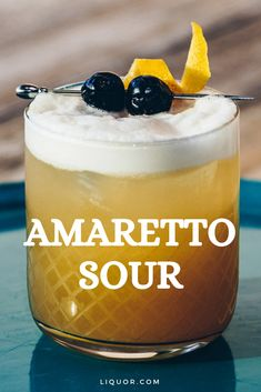Amaretto Sour The Amaretto Sour is a classic cocktail that combines Amaretto and bourbon to make a delicious happy hour cocktail. Make this simple cocktail for your next cocktail party. The post Amaretto Sour appeared first on Getränk. Sour Cocktail, Cocktail Drinks, Cocktail Recipes, Cocktail Parties, Recipes Dinner, Breakfast Recipes, Easy Cocktails, Classic Cocktails, Drinks Alcohol Recipes