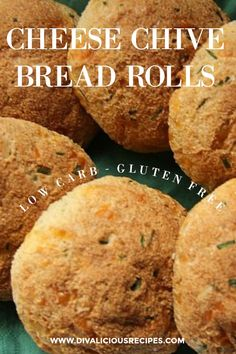 Cheese Chive Bread Rolls