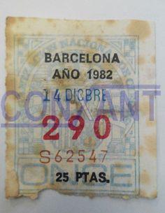 Numero de la ONCE 1982