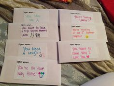 Open When Letters I M Leaving For College And Gave Them