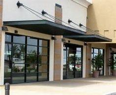 Pergola Over Garage Door Metal Shop Building, Building Front, Building Facade, Building Exterior, Building Design, Building A House, Building Homes, Awning Canopy, Door Canopy