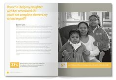 Russell Design | Selected Work. LSA Family Health Service 2008 Annual Report Spread 2