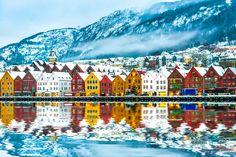 #Bergen #Village #norway