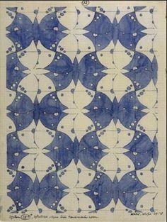 Math and the Art of MC Escher - Tesselations Mc Escher, Escher Kunst, Escher Art, Escher Tessellations, Tessellation Patterns, Arte Elemental, Math Art, Dutch Artists, 2d Art