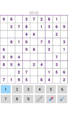 Sudoku 999 Game screen shot