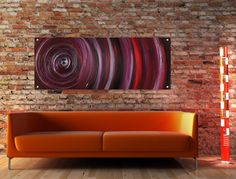 Vortex Contemporary Acrylic Perspex Art in violet, aubergine, purple, silver and red. Acrylic Panels, Acrylic Artwork, Contemporary Abstract Art, Artwork Prints, Cool Art, Swimming Pools, Bathrooms, Chrome, Things To Come
