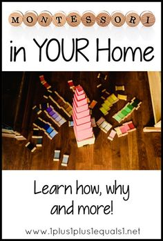 Montessori in Your Home - links to many posts and free printables to help you use the Montessori method in your homeschool Preschool At Home, Preschool Activities, Print Awareness, Montessori Homeschool, Homeschooling, Farm Fun, Farm Theme, Tot School, Kids Writing