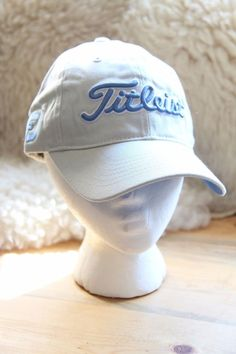 0e51770d74d Titleist White and Blue Adjustable Snapback Hat