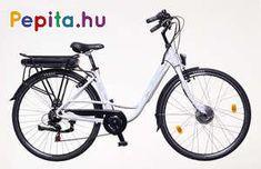 """A NNeuzer E-City Zagon MXUS egy prémium minőségű anyagok felhasználásával létrejött termék.    Jellemzői:  - Kerékméret: 26""""  - Vázméret: 18""""  - Váz: AL6061 Alu nagy teherbírású  - Villa: Merev acél 26""""  - Első fék: Alhonga V  - Hátsó fék: Alhonga V  - Hajtómű: Alu/Alloy 170 MM 38T  - Hátsó váltó: Shimano 6 SPD (6 sebesség)  - Váltókar: Shimano RS35 6 SPD (6 sebesség)  - Első agy: MXUS 36V/250W Agymotor  - Hátsó agy: Asses ALU.36H  - Felnik: Mach1 26"""" Duplafalú  - Köpeny / Gumi: Kenda K198… Bicycle, Bicycle Kick, Bike, Trial Bike, Bicycles"""