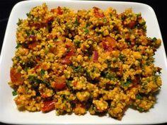 Rezept: Hirse - Salat