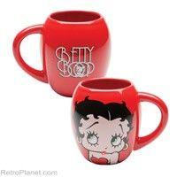 Betty Boop Shaped Coffee Mug