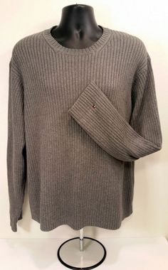 22e4976e Tommy Hilfiger Signature Striped Crew Neck Sweater Small TD171 UU 05 |  Sweaters | Pinterest | Sweaters, Crew neck and Tommy hilfiger
