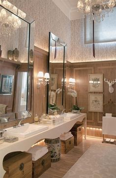 How Tall, Luxurious Mirrors Let You Lift Your Ceiling w/o Literally Raising The Roof — DESIGNED w/ Carla Aston