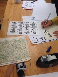 Kalligrafi kursus
