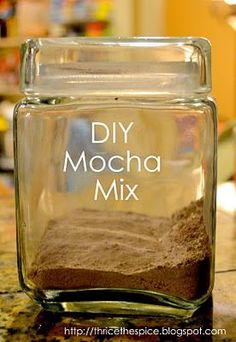 Do It Yourself: Homemade Mocha Drink Mix