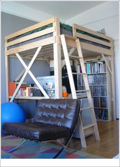 Best Cheap Queen Size Loft Beds for Adults - Bunk bed or loft beds are not only for children but adults can use this loft beds. Loft beds is useful when yo