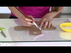 Mulher.com 03/03/2014 - Casinha de passarinho feita com papelão e tecido - YouTube