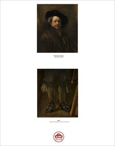 This advertising campaign shows you the bottom half of famous portraits - Designer Daily: graphic and web design blog