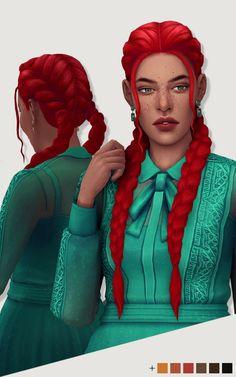 @luutzi   Desdemona  female hair