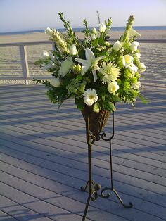 ceremony floral arrangements | Behind the Bride - San Diego Wedding and Event Coordination » Blog