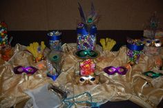 Masquerade Decoration Ideas | Moments of Serendipity by Jessica's Events: Ashely's Quinces
