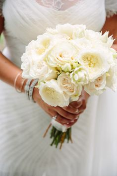 #Bouquet | A gorgeous Colin Cowie Wedding waiting for you on SMP - http://www.StyleMePretty.com/2014/01/09/colin-cowie-wedding-in-buttermilk-falls/ Tory Williams Photography