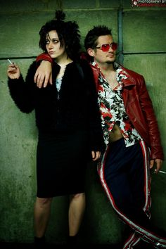 Marla Singer and Tyler Durden, Fight Club