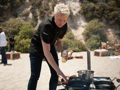 Elizabeth Falkner cooks on The Next Iron Chef: Redemption.
